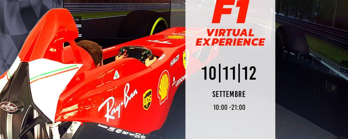 F1 Virtual Experience